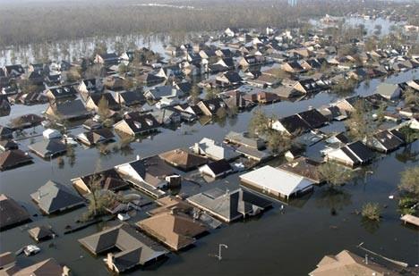 Новый Орлеан после затопланеия